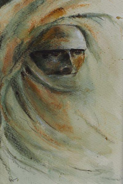 Saharan Figure